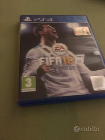 Gioco PlayStation 4 fifa 18