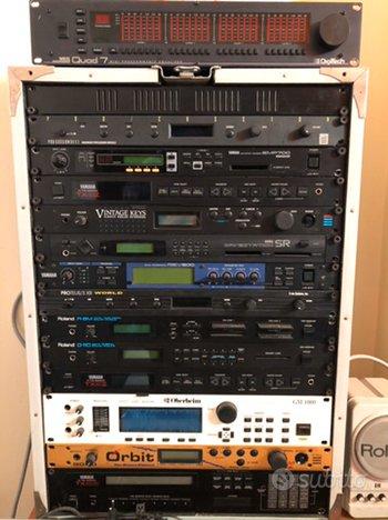 Rack vari / sintetizzatori / digitali / analogici