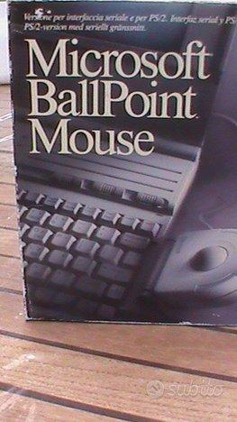 Mouse BallPoint Microsoft