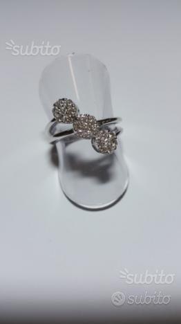 Anello Davite & Delucchi con Diamanti 0,55Ct Oro