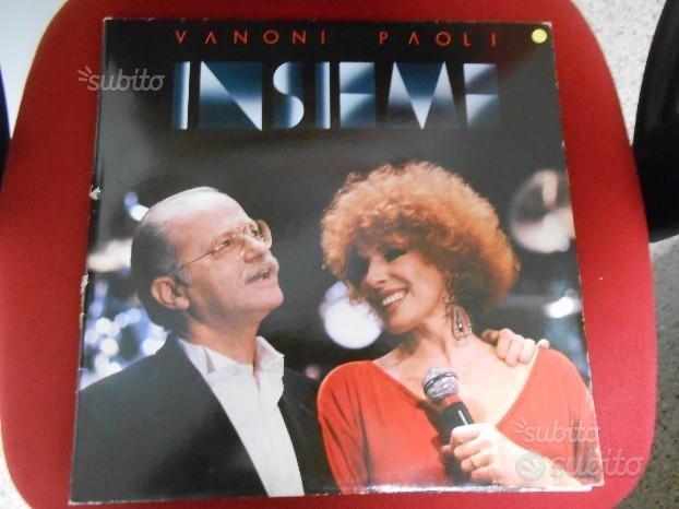 """2 LP O. VANONI : """"UOMINI"""" e"""" VANONI E PAOLI"""""""