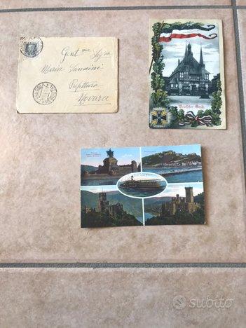 Cartoline celebrative e antiche