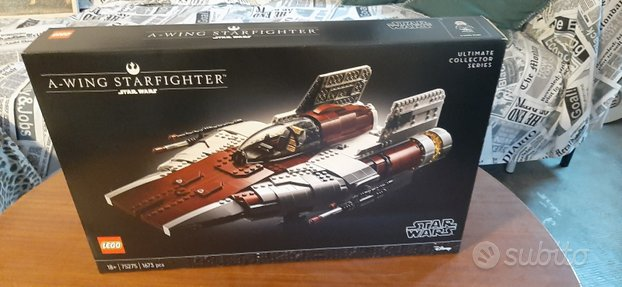 Lego star Wars a-wing starfighter nuovo