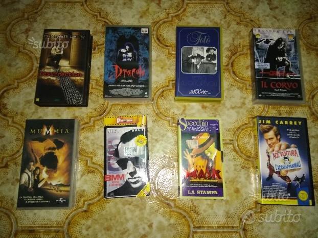 Videocassette originali vario genere