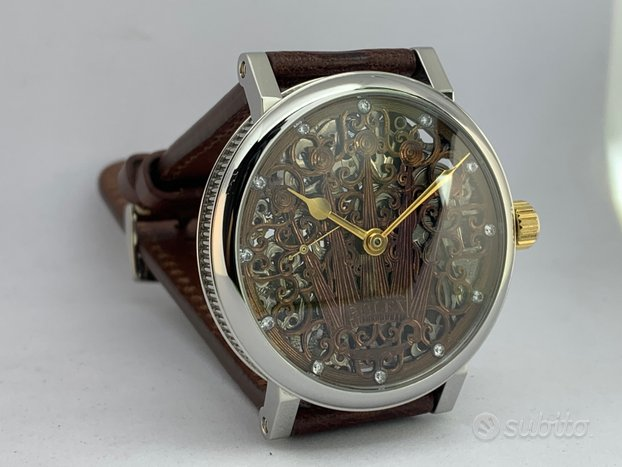 Rolex lever skeleton marriage 1939 manuale