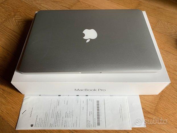 Apple MacBook Pro retina 13 mid 2015 con 256 gb