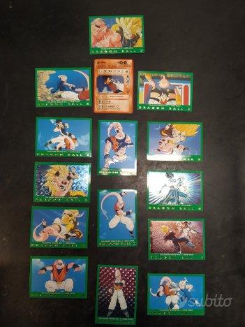 Lamincard Dragon Ball Z serie verde