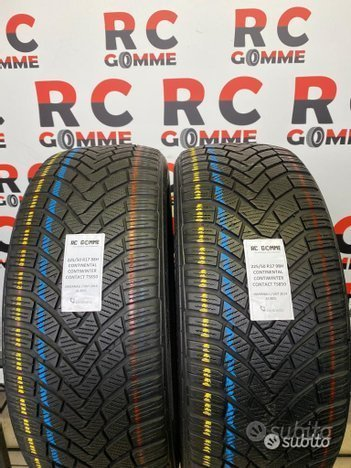 2 gomme invernali usate 225 50 17 98h continental