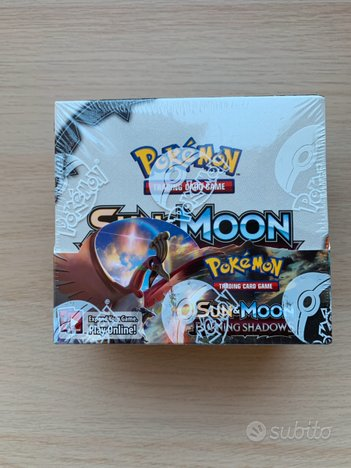 Booster box sealed burning shadow pokemon