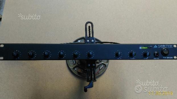Mixer mono 6 ingressi micro/linea australian monit
