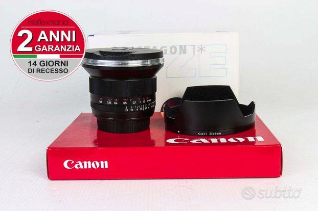 Zeiss Distagon T* 18mm f3.5 Canon-2 ANNI DI GARANZ