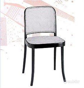 4 sedie Thonet nere,Thonet