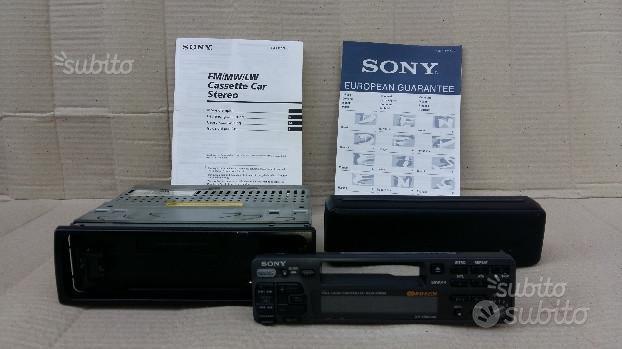 Autoradio SONY XR-4750RDS