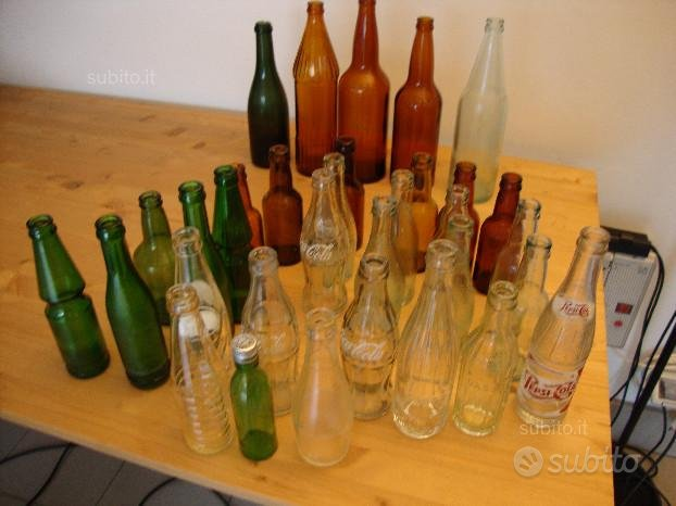 Bottiglie anni 50 / 60