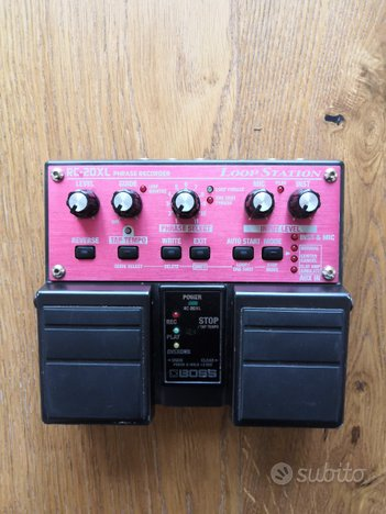 Loop Station Boss RC-20XL