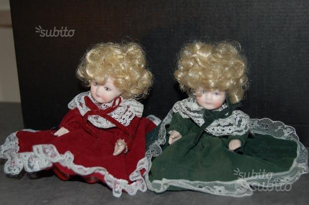 Bambola di porcellana da collezione