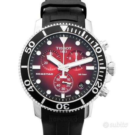 [NUOVO] Tissot T-Sport T120.417.17.421.00 Red