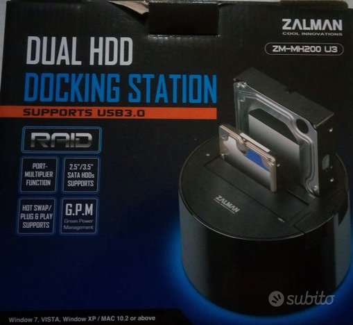 Dual HDD Docking Station