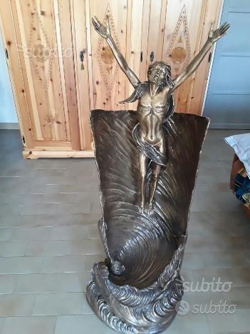 Statua gesu' bronzo