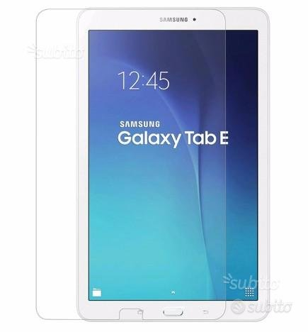 Pellicola vetro temperato Tab E Samsung 9.6