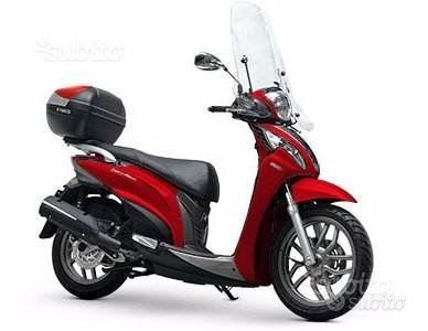 Kymco People ONE 125i - ROSSO. - EURO 4