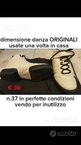 Scarpe dimensione senza n.37