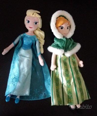 Bambola di peluche Disney Anna, Elsa e Vaiana