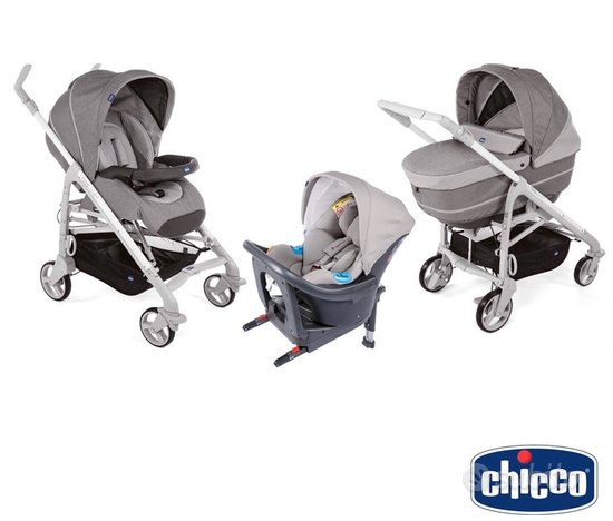 Trio Chicco Love Up grigio scuro