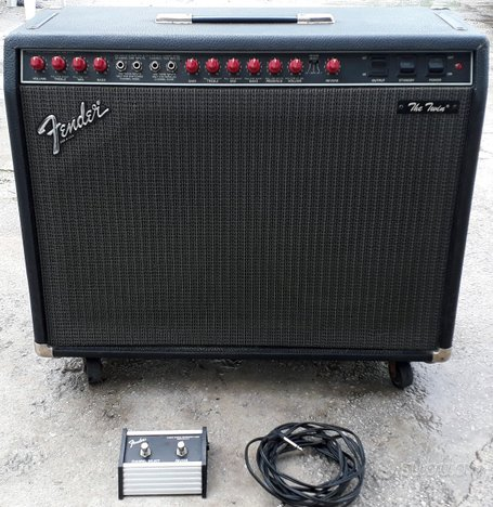 Amplificatore FENDER The Twin Made in USA COMPLETO