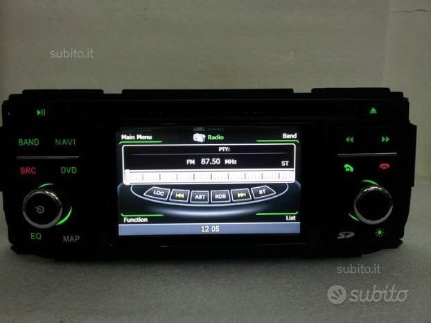 Autoradio navigatore touchscreen dvd jeep wifi