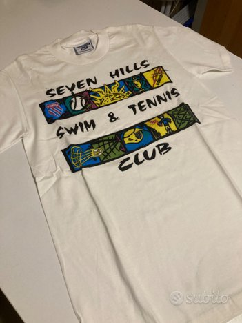 T-shirt bianca marca Lee Cooper tg. S nuova