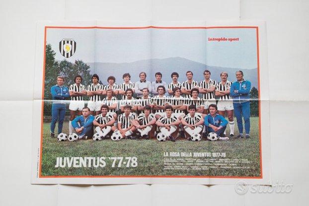 Poster JUVENTUS '77-78