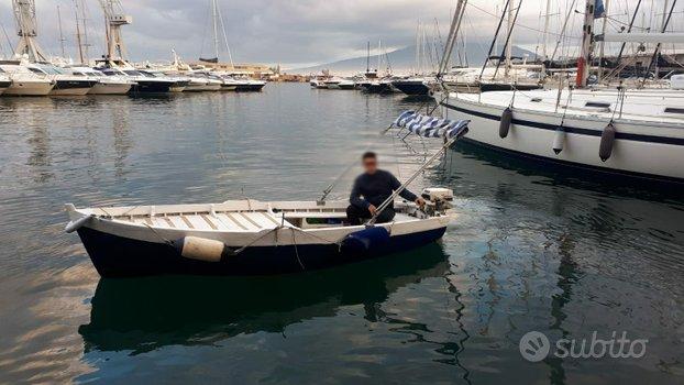 Barca - gozzo di 4.10m con motore