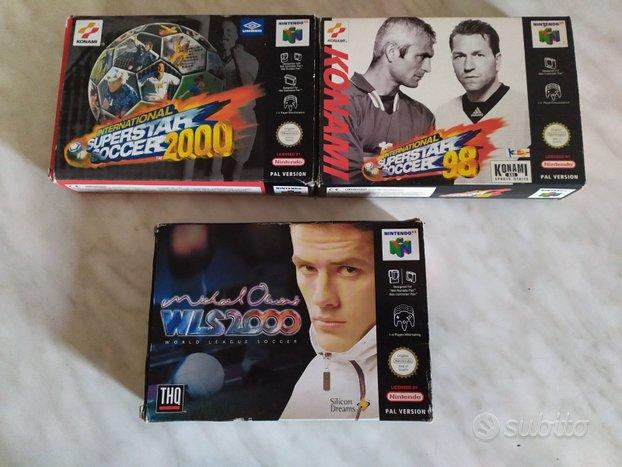 Giochi Calcio BOXATI Nintendo 64 Owen ISS PRO 98