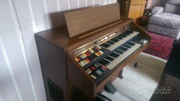 Hammond maverick 5222 organo piano originale
