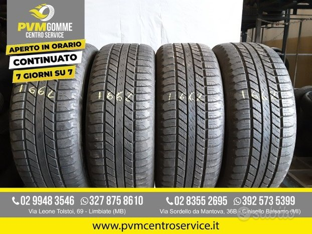 Gomme usate: 255 55 19 111v goodyear