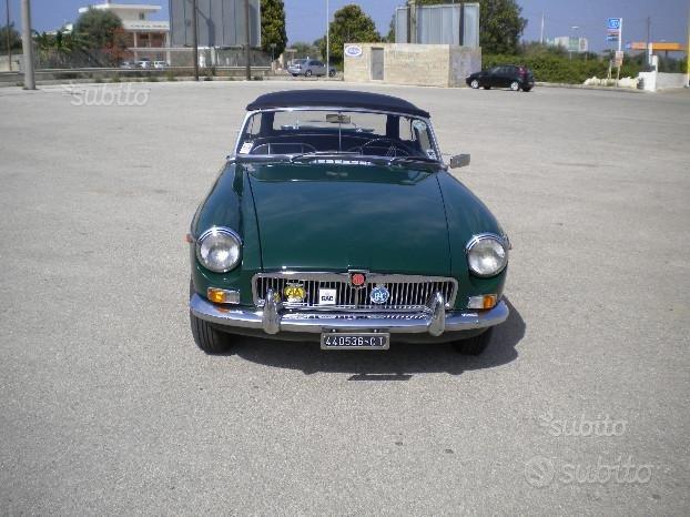 MG MGB spider 1964 (prima serie) TARGA ORO ASI