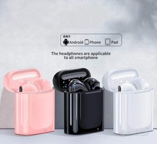 Cuffie auricolari bluetooth wireless per iPhone
