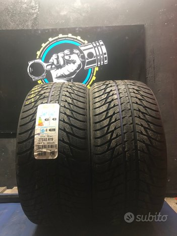 275 45 19 nokian gomme usate invernali