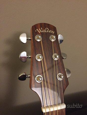 Chitarra acustica elettrificata aero walden