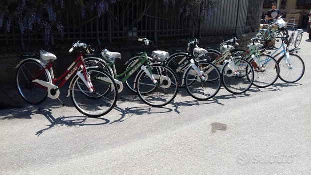 "Nuove biciclette city bike donna misura 28"""