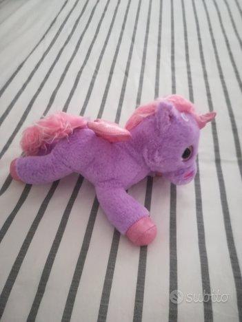 Peluche unicorno bimba