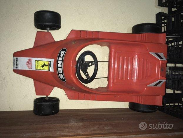 Auto a pedali Ferrari F1 Pines anni 80'