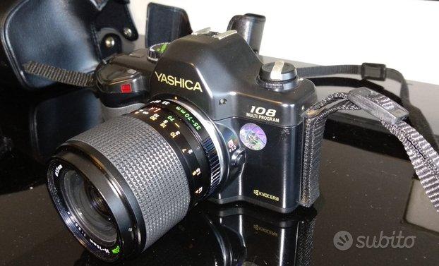Macchina fotografica Yashica 108 MP, 35-70 e flash