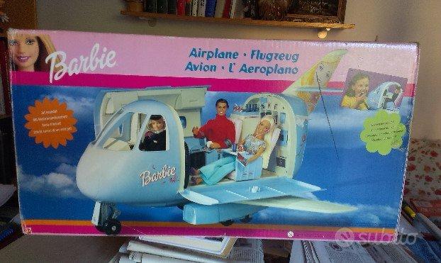 Barbie aereo giocattolo collezione nuovo imballato