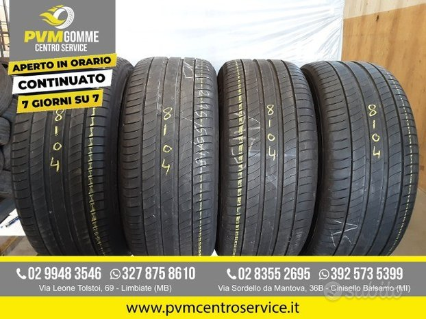Gomme usate:245 50 18 100y michelin