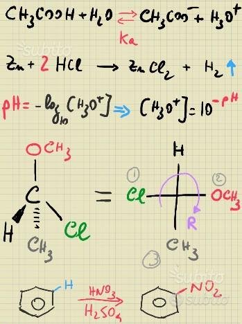Lezioni - Ripetizioni - Test - Esercizi di Chimica