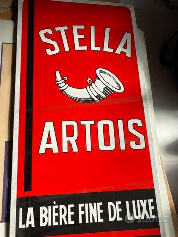 Stella artois e manifesti pub