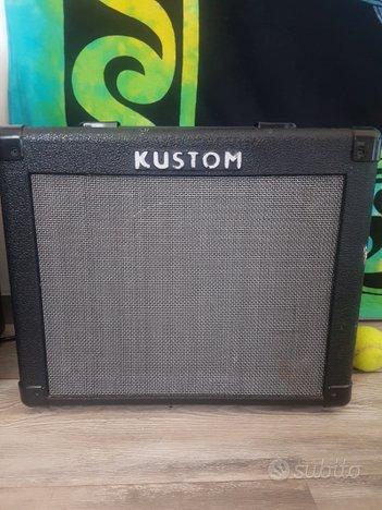 Kustom kga 16 r amplificatore chitarra transistor