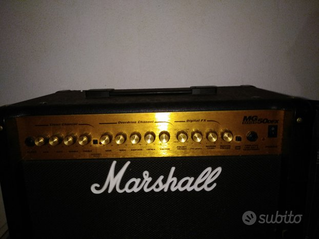 Amplificatore Marshall MG 50 DFX
